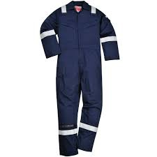 FLAME RESISTANT SUPER LIGHT WEIGHT ANTI-STATIC COVERALL