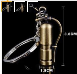3D FIRE EXTINGUISHER METAL KEYCHAIN