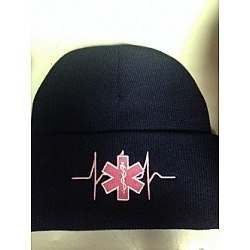 PINK STAR OF LIFE WINTER HAT