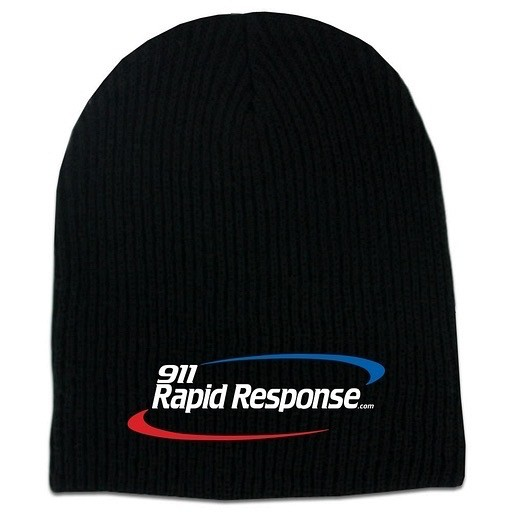 911RR Apparel 911RR WINTER HAT - Black