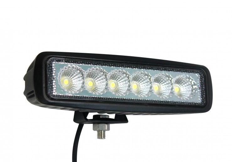 18W LONG LED, 90° / 25° SPOT