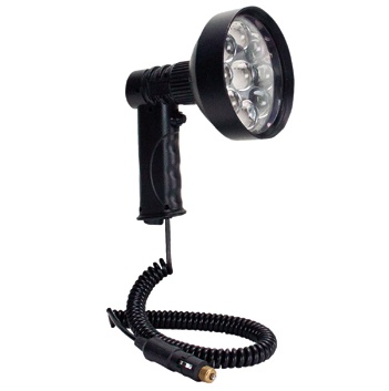 PAR 36 Handheld LED Spotlights, DC Plug