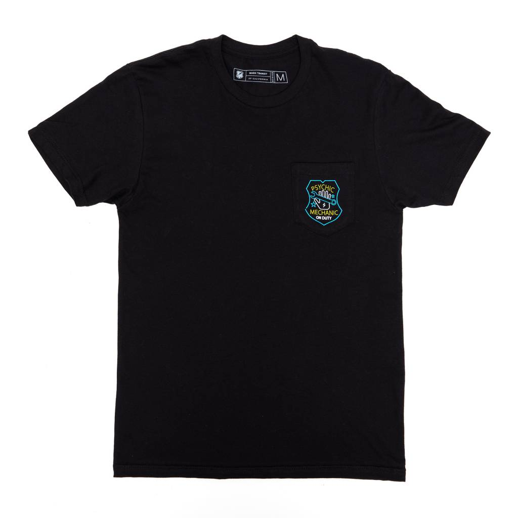 MASH Psychic Pocket T-Shirt Black