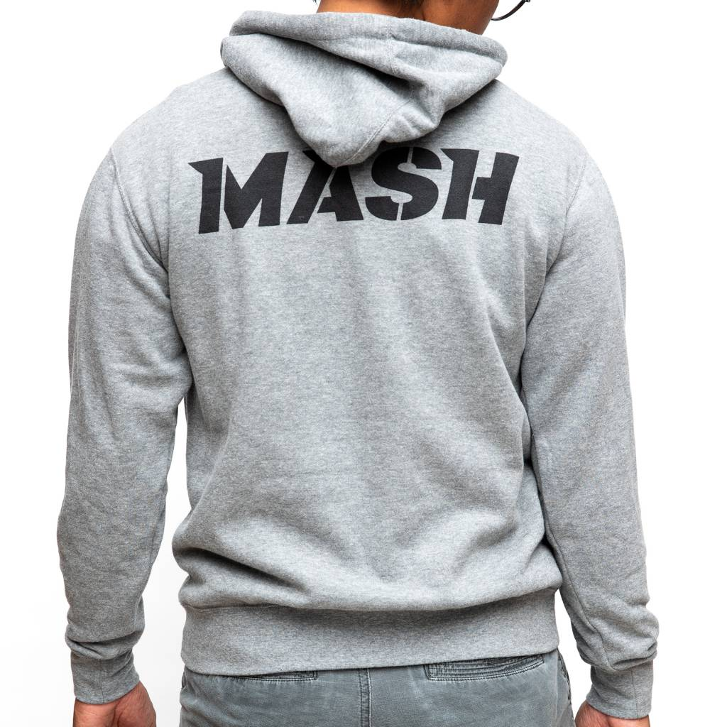 MASH Bolt Pullover Hoodie Heather Gray