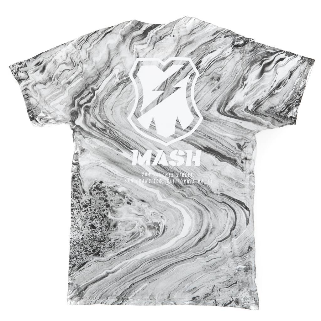 MASH Shop T-Shirt Gray Marble