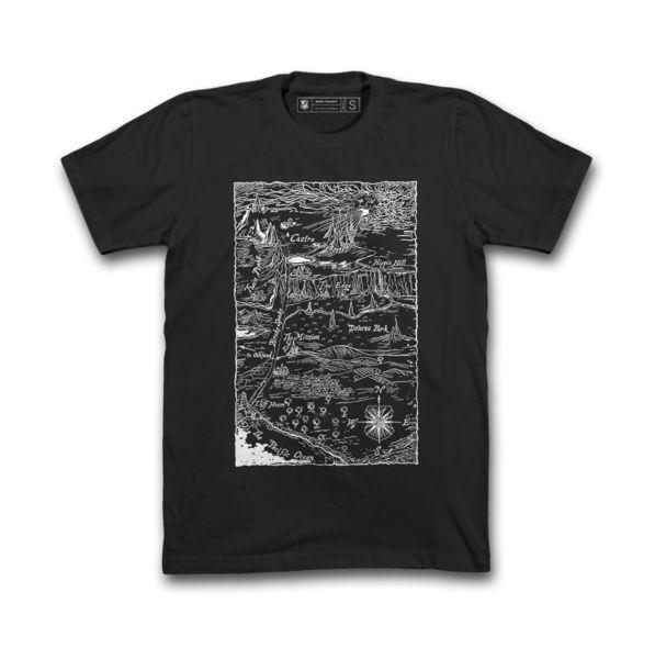 MASH Ruins Shirt Black / Bleach