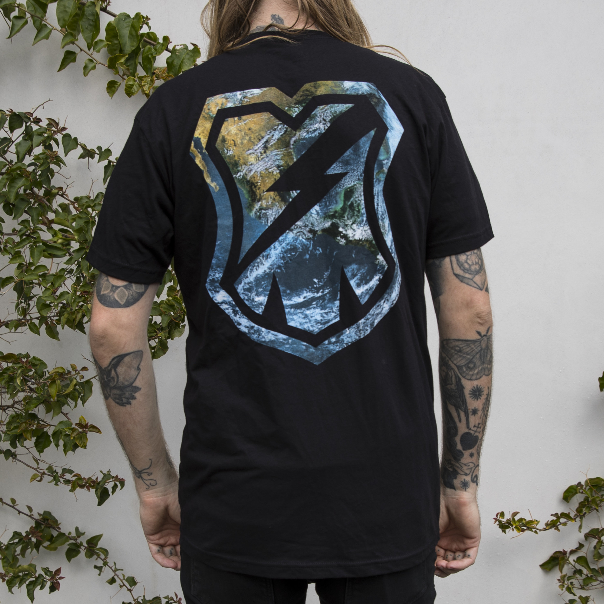 MASH Earth Shirt Black