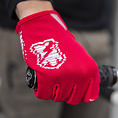 MASH GLITCH GLOVES Red