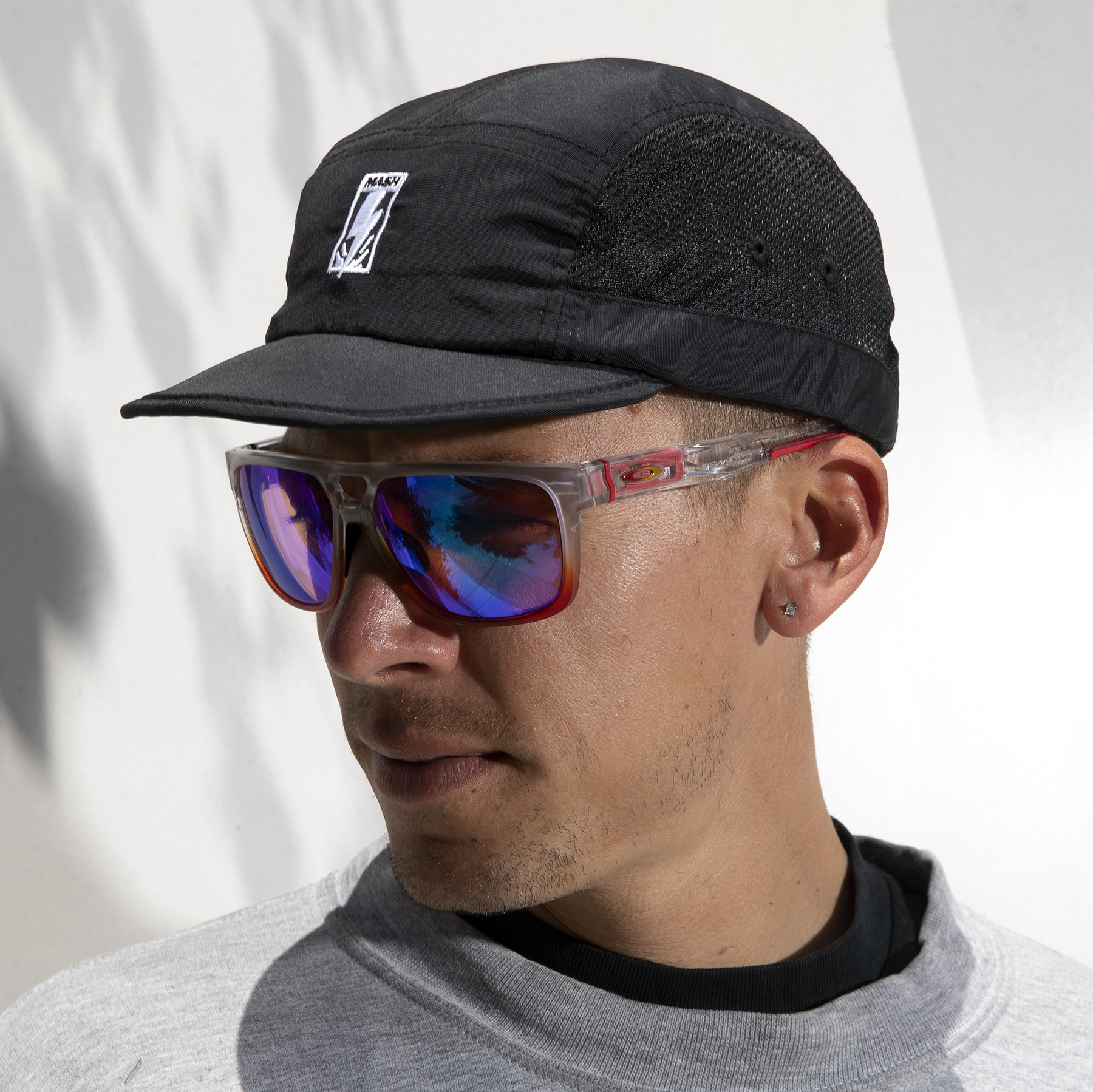 MASH Foldable Mesh Hat Black