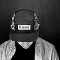 MASH 5 Panel Ripstop Hat Black W/Reflective