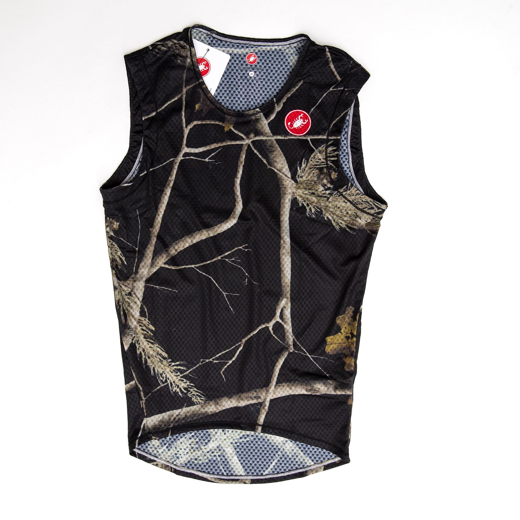 MASH Sleeveless Baselayer Night Camo