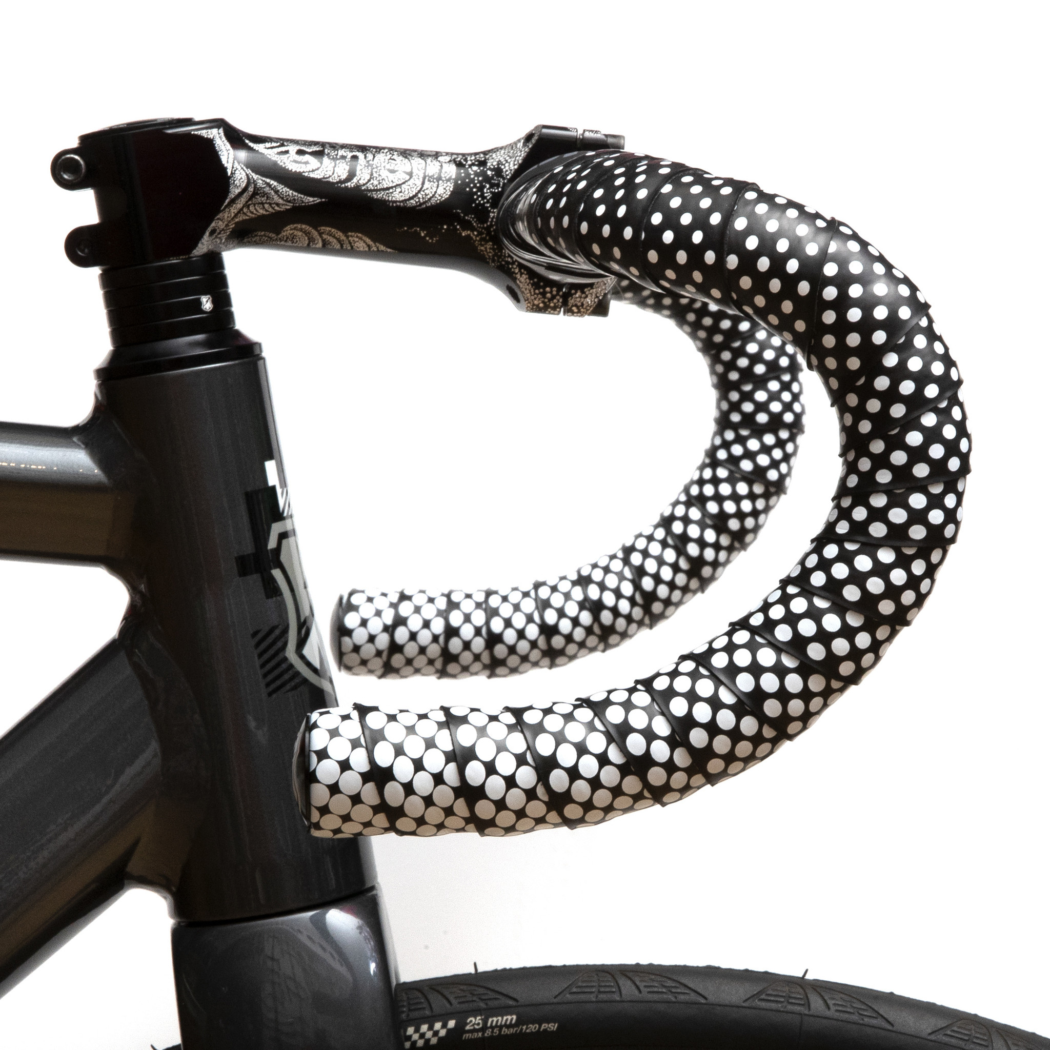 MASH Gradient Bar Tape Black + White