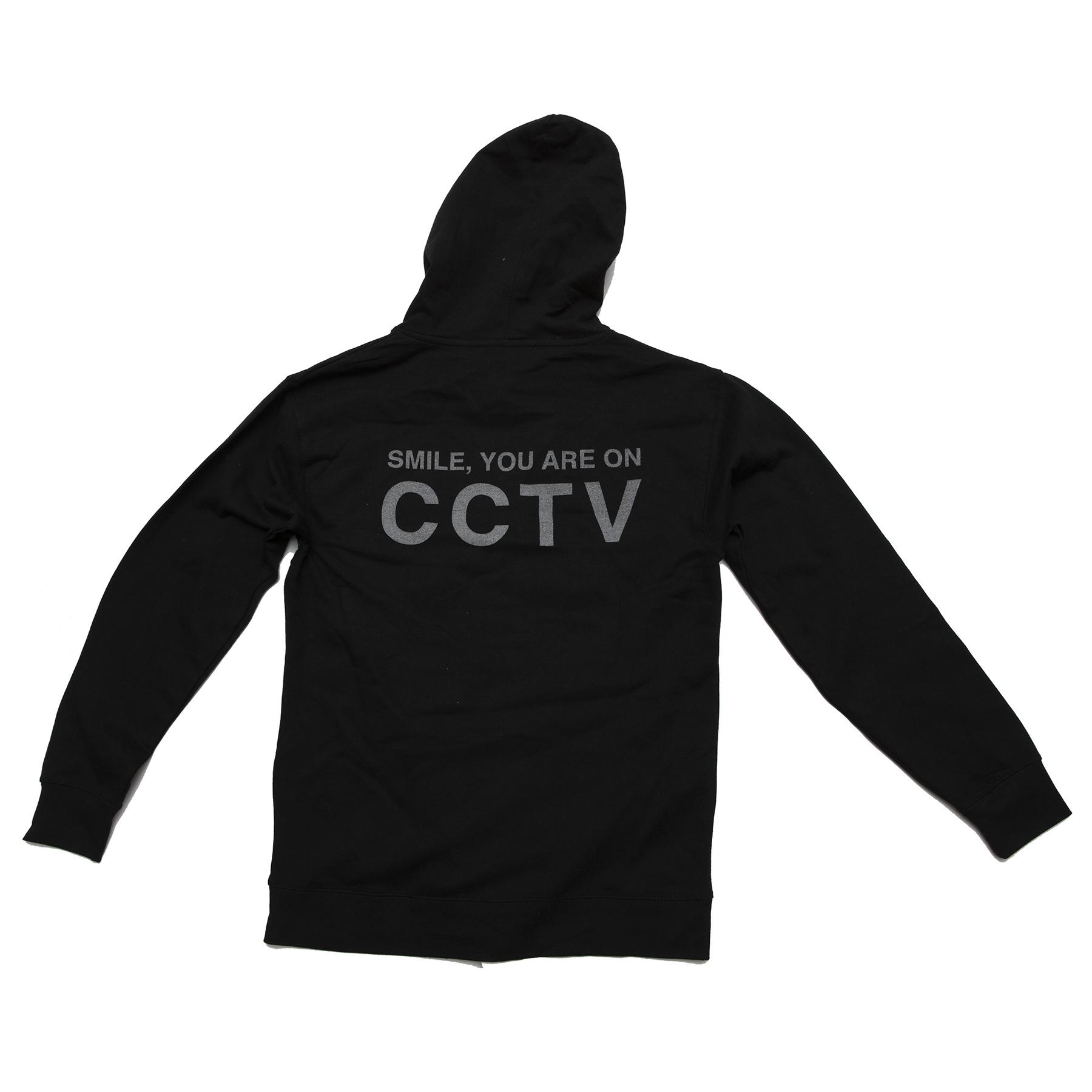MASH CCTV Hooded Pullover Black Or Neon