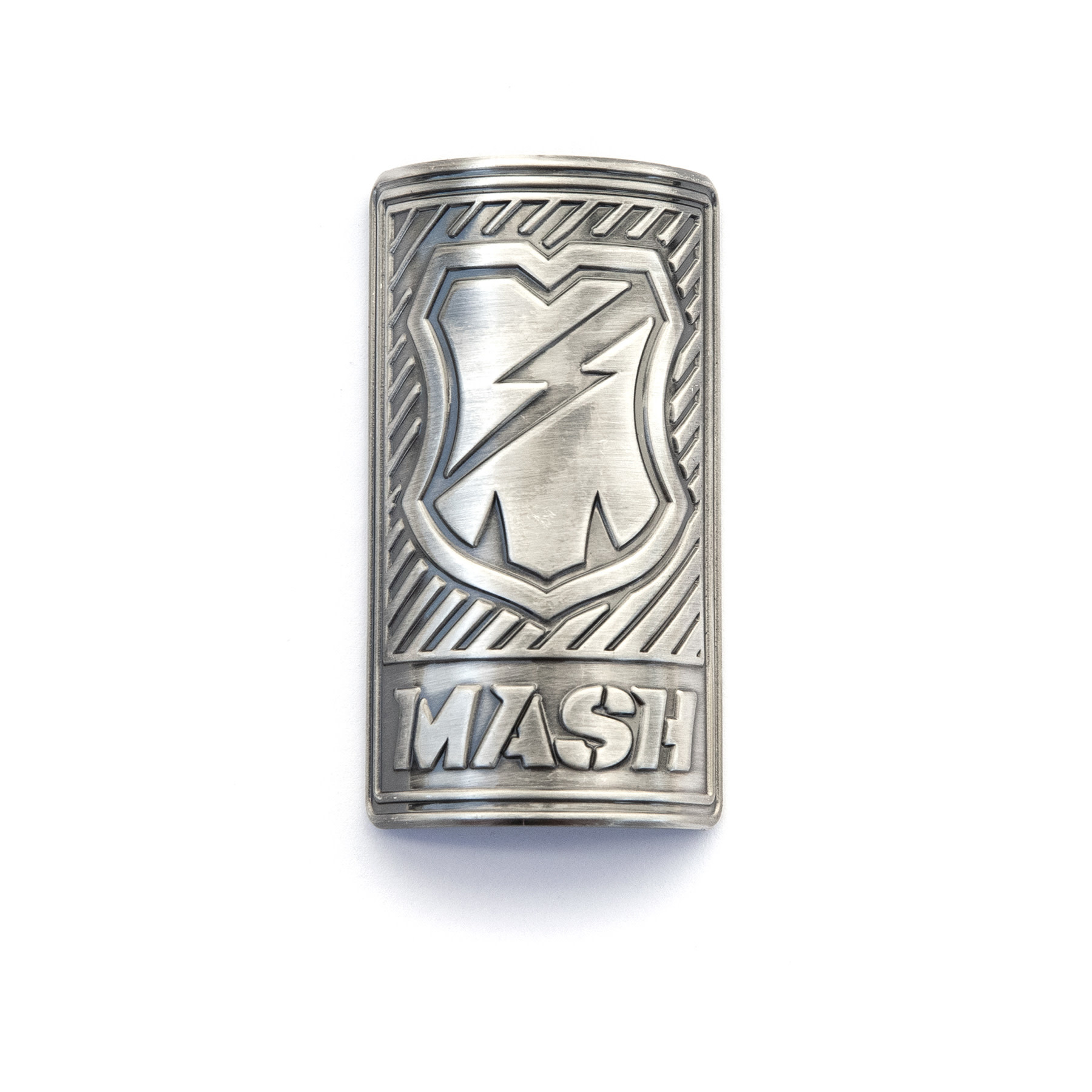 MASH 1 1/8 Headbadge Brass