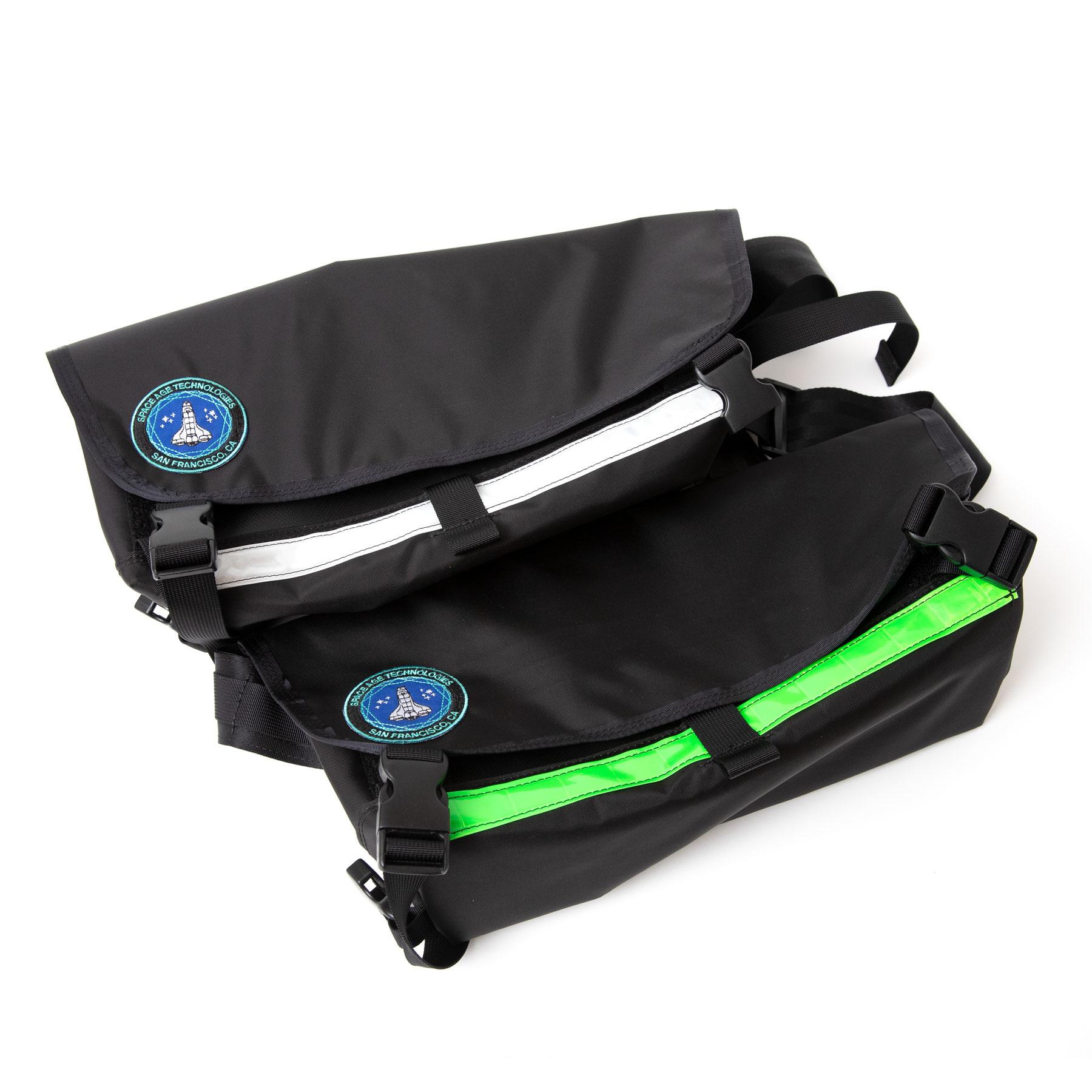 Space Age Mini Sling Bag Black