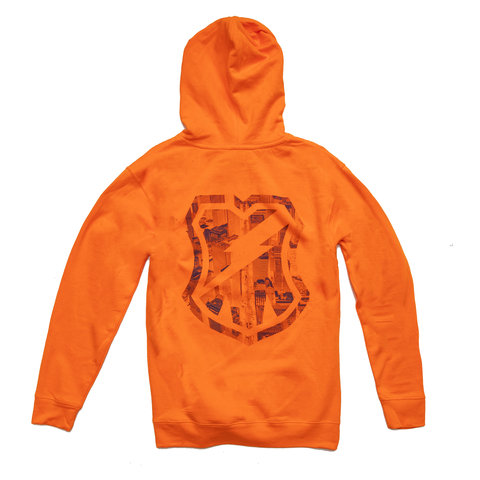 MASH City Hoodie Hi-Viz Orange