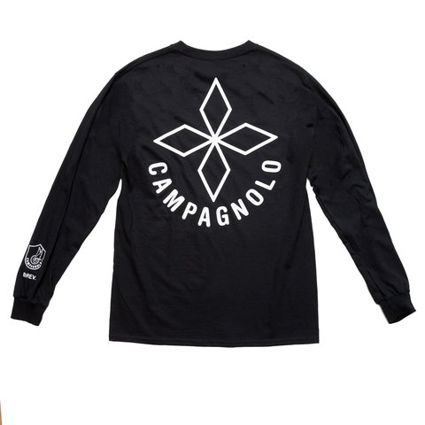 Campy Long Sleeve Shirt Black