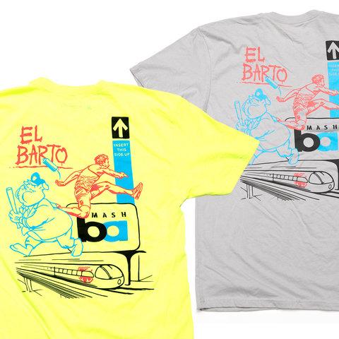MASH El Barto T-Shirt  Neon or Silver