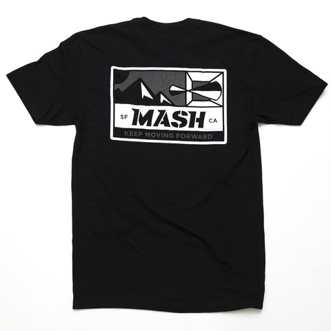 MASH Optic T-Shirt Black/Reflective
