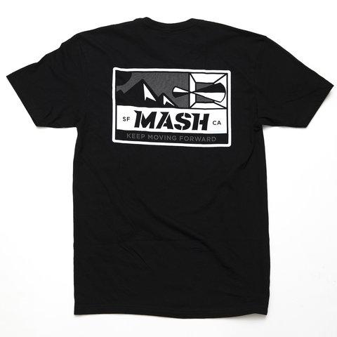 MASH Optic T-Shirt Black/Reflective