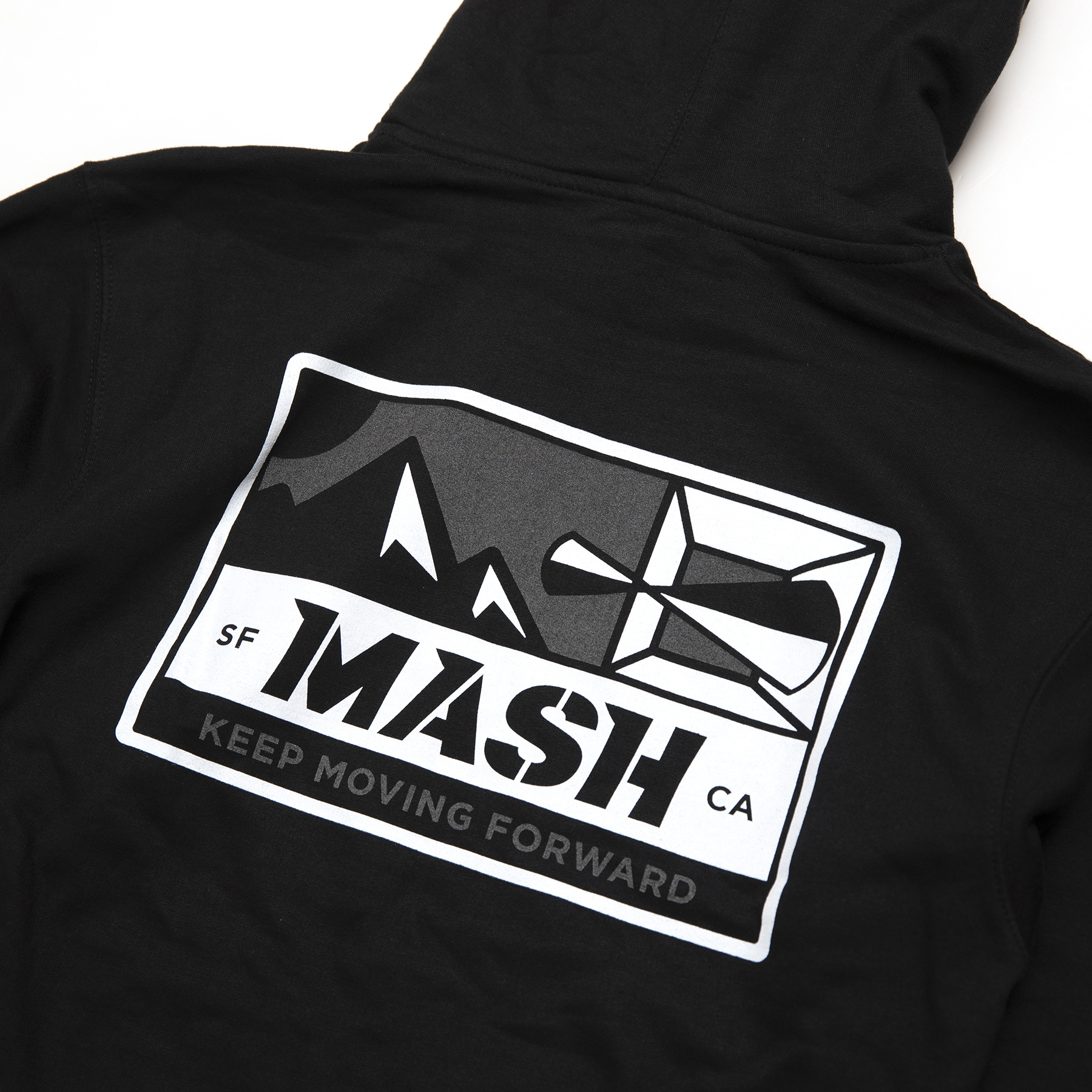 MASH Optic Hoodie Black/Reflective