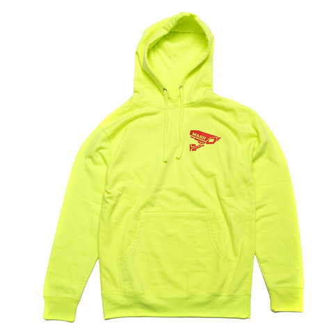MASH CCTV Hooded Pullover Black Or Neon