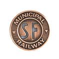 SF Municipal Railway Pin