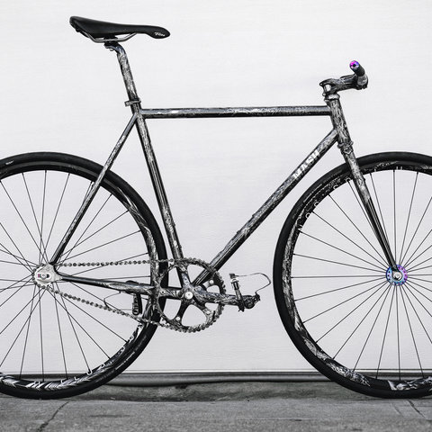 Ko Engraved MASH Steel Bike Size 55TT