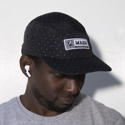 MASH Reflective Dots Hat Black