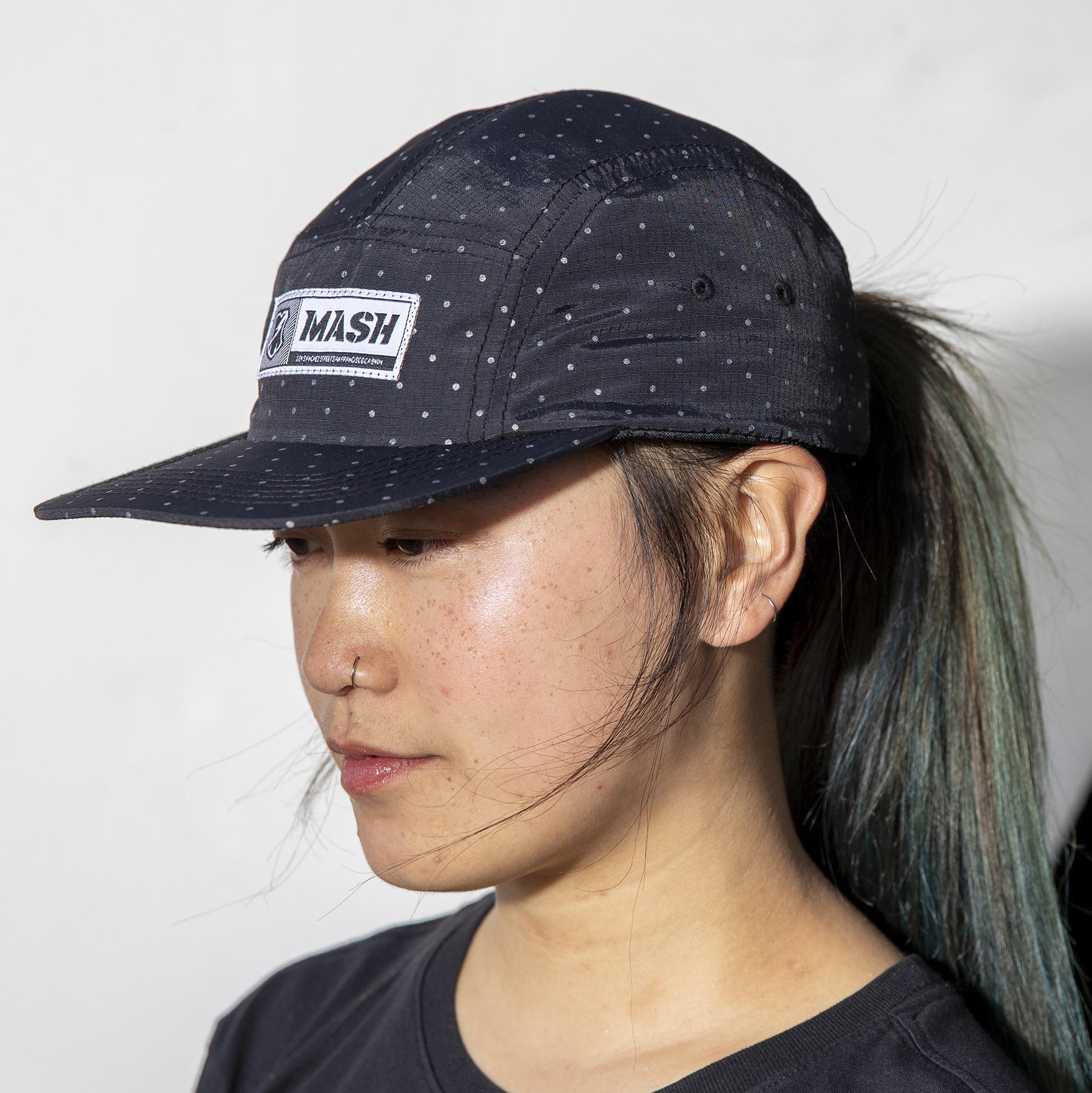 MASH Reflective Dots Hat Black