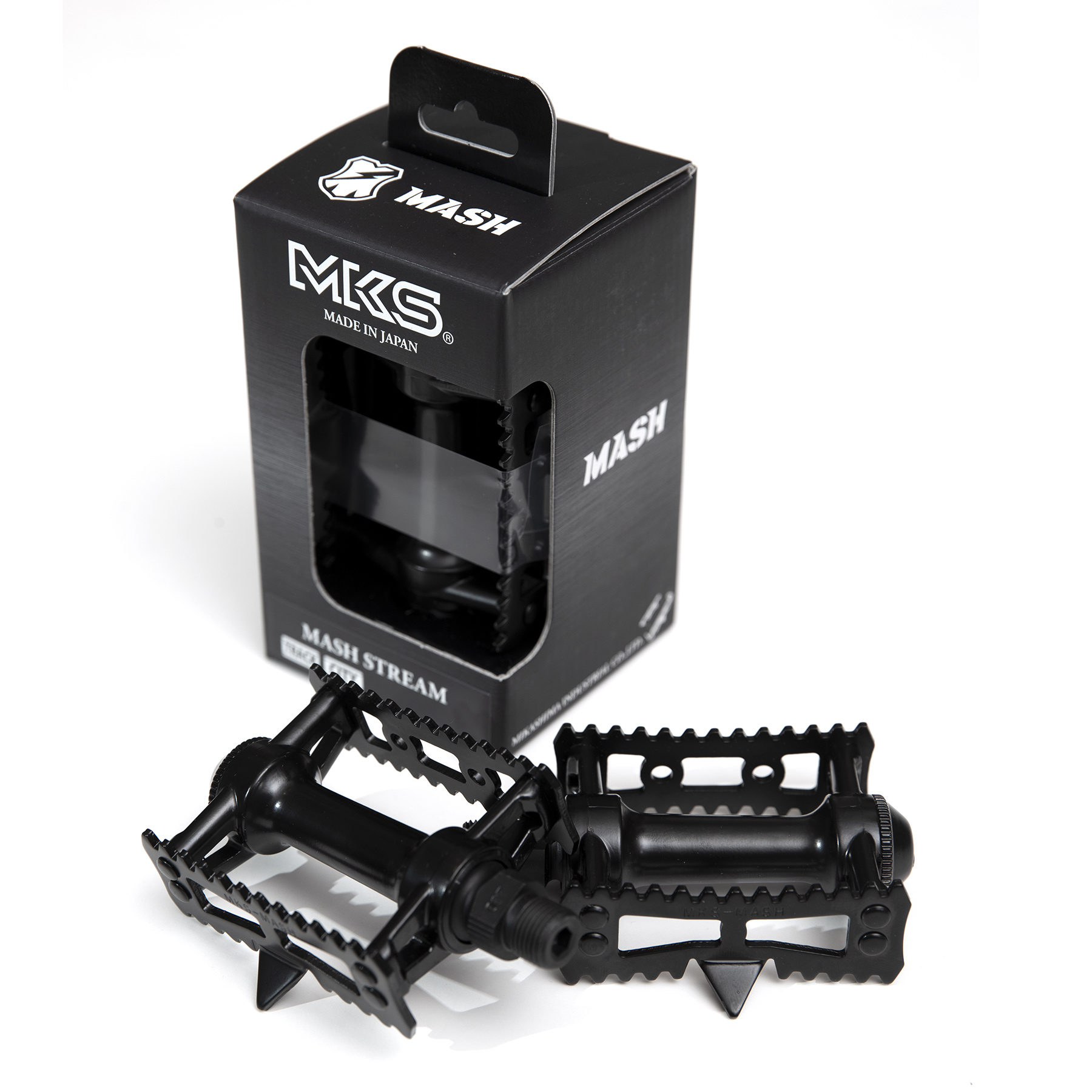 MASH MKS All Black Sylvan Stream Pedals