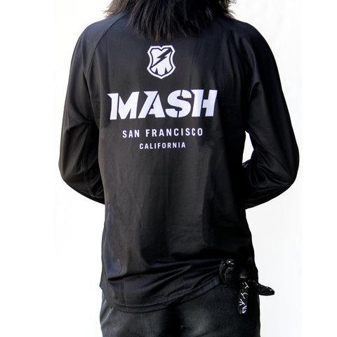 MASH Shop Jersey L/S Black