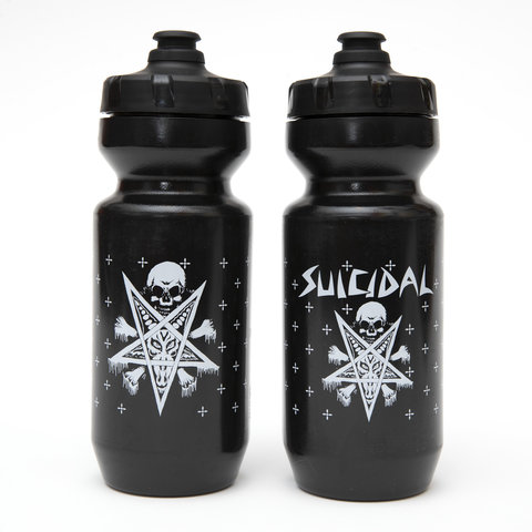 MASH Suicidal 22oz Purist bottle Black