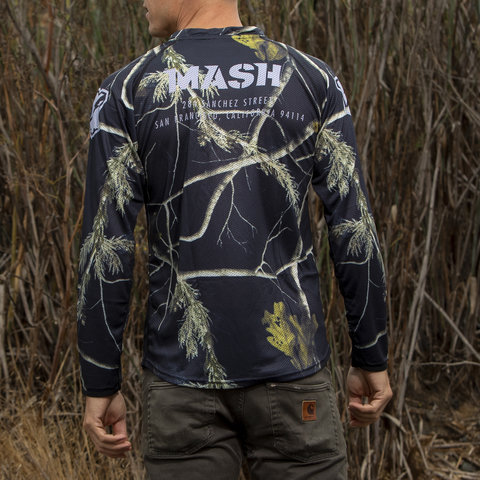 MASH Night Camo Jersey L/S
