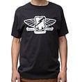 MASH Transit Wings T-Shirt Black