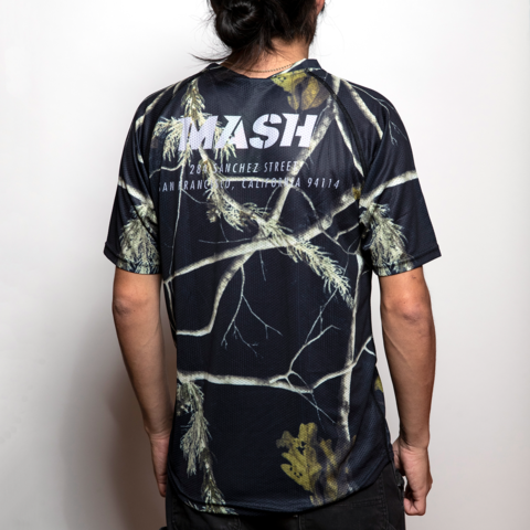 MASH Night Camo Jersey S/S