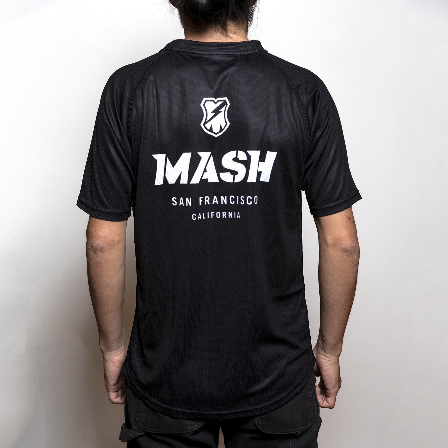MASH Shop Jersey S/S Black