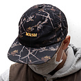 MASH Night Camo Hat Black