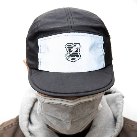 MASH Foldable hat Black + 3M Reflective