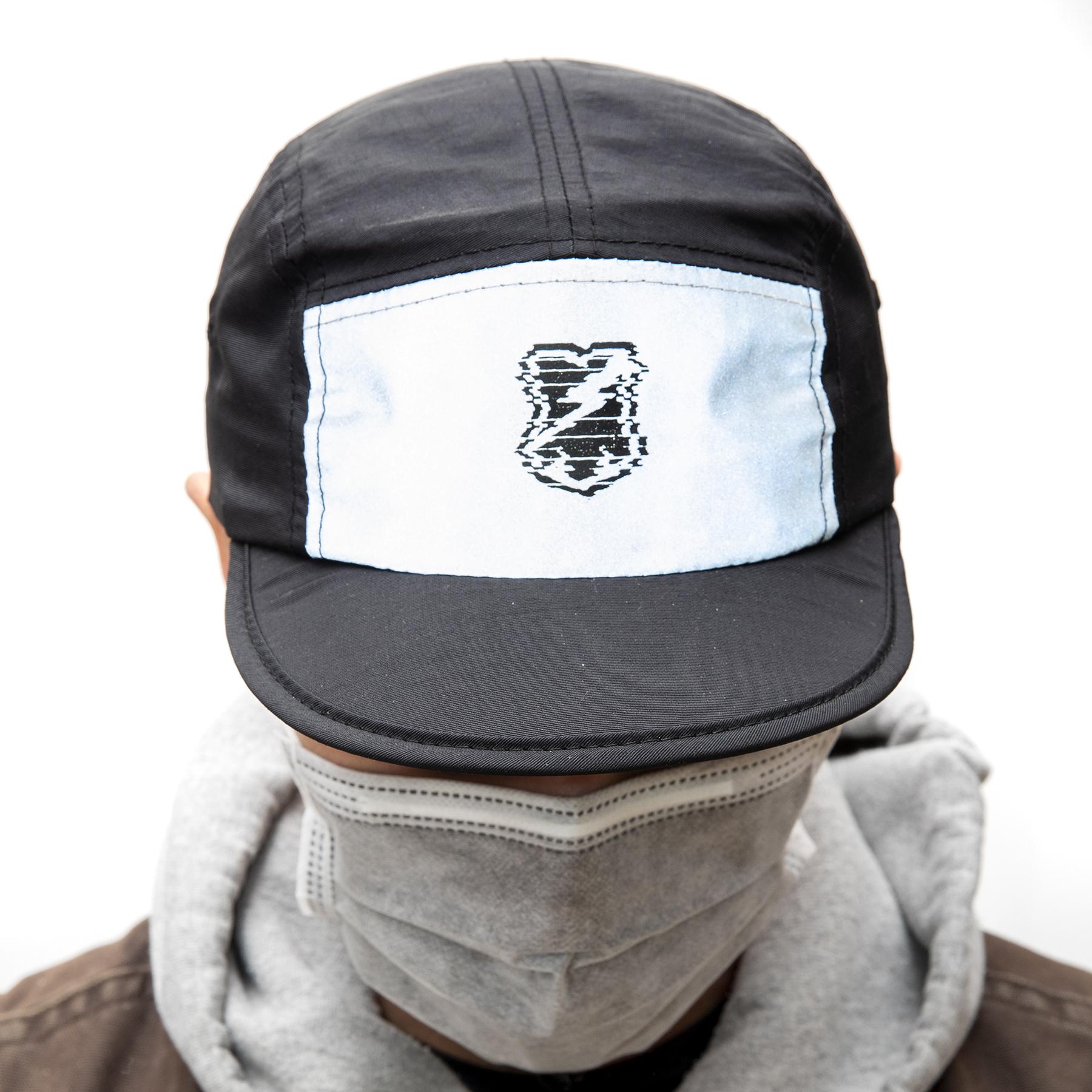 MASH Foldable hat Black + 3M Reflective