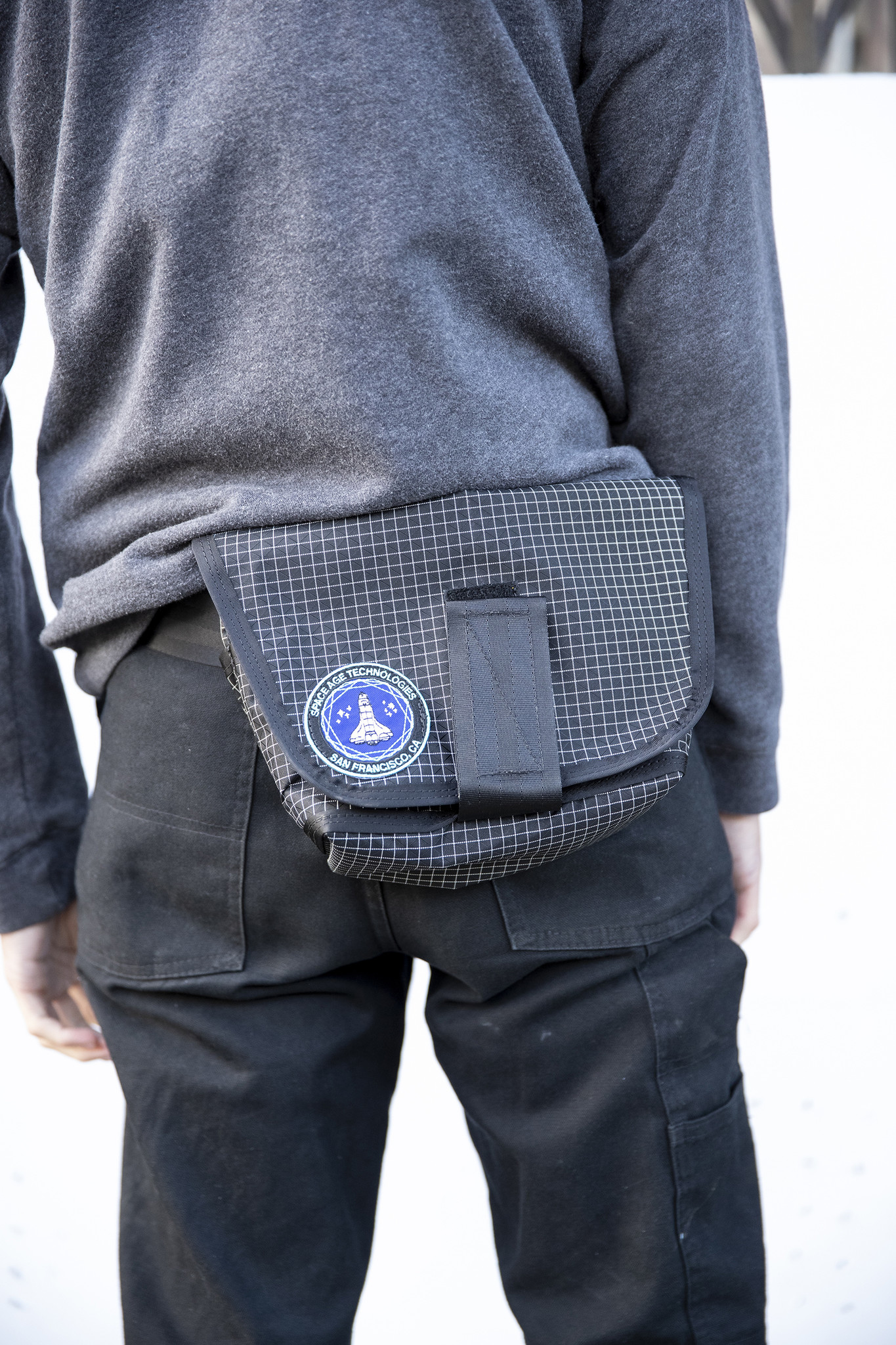 SPACE AGE Large Hip Pack W/Belt