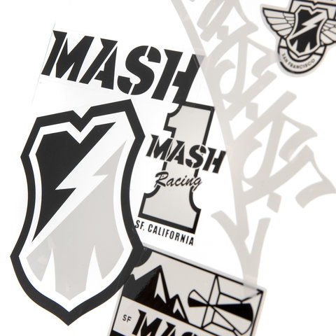 MASH Sticker Packs in 6 Colors