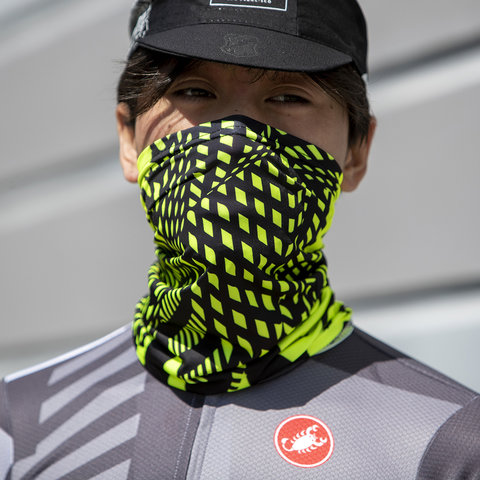 MASH Noise Neck Gaiter Hyper Yellow