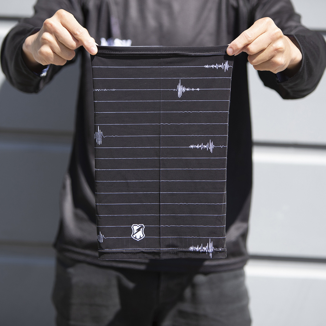 MASH Quake Stripe Gaiter Black