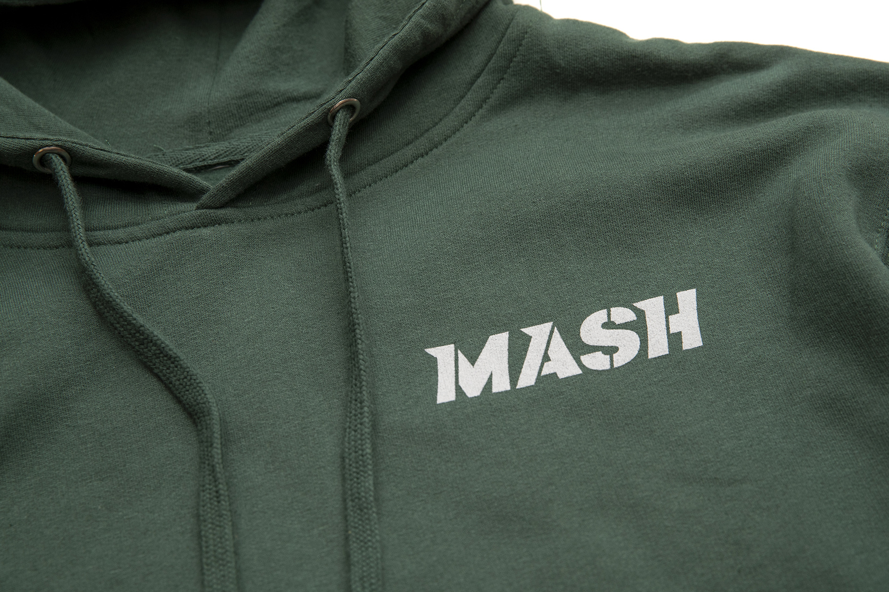 MASH Forest Shield Hoodie Green