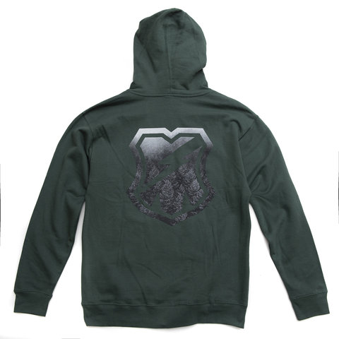 MASH Forest Shield Hoodie  in Alpine Green