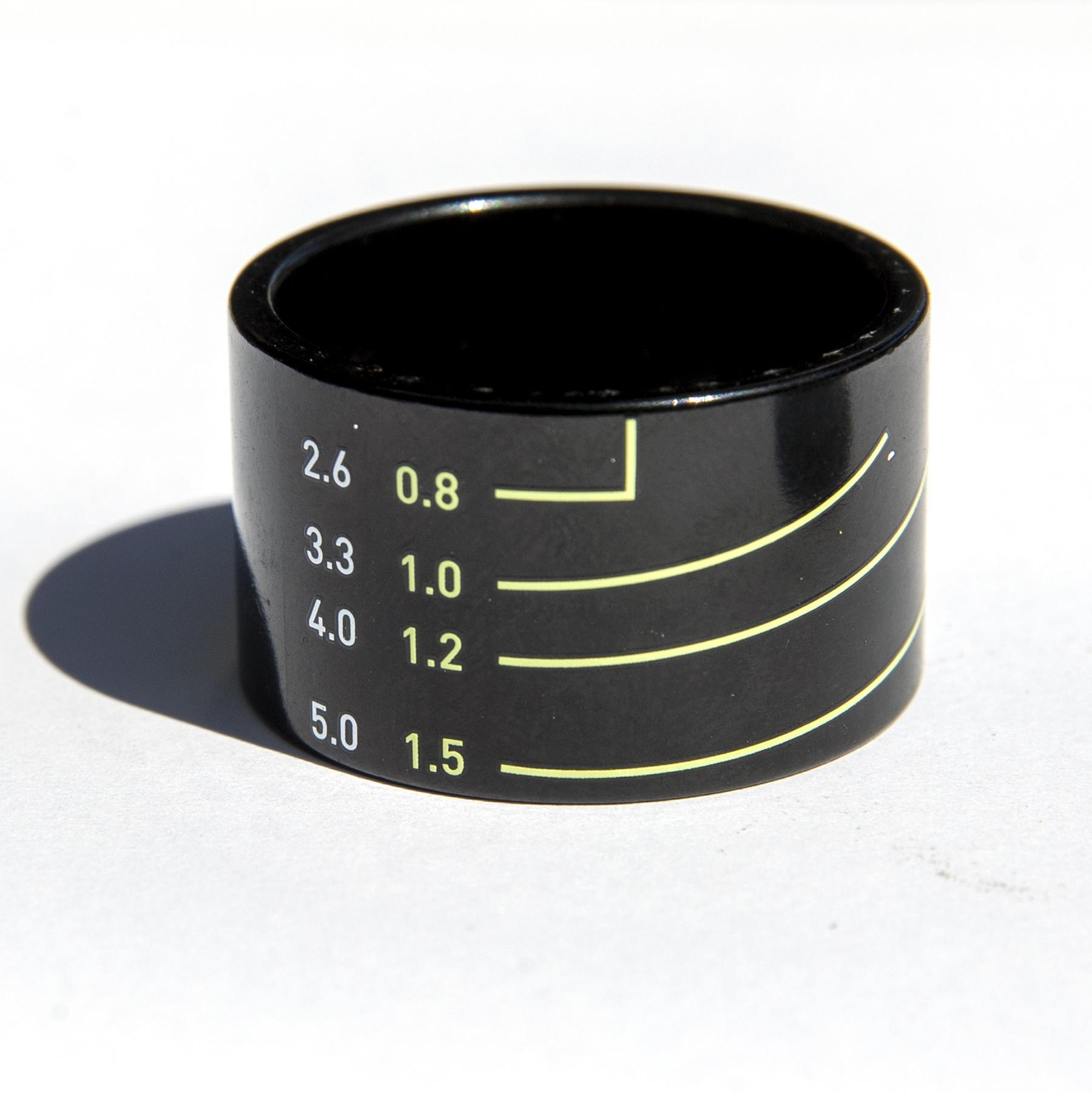 MASH Lens spacer 20mm Black