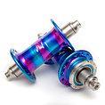 MASH x Phil Wood Fix/Fix Hubset Pink/Purple/Blue 28H