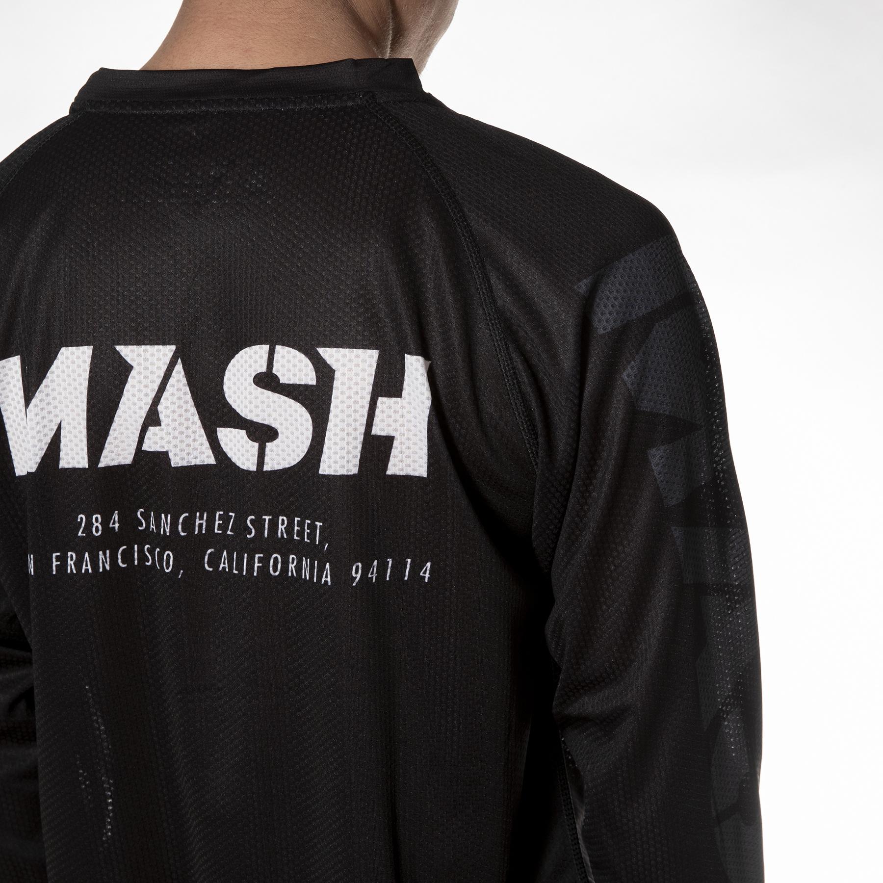 MASH Shop Jersey  L/S  2.0 Black