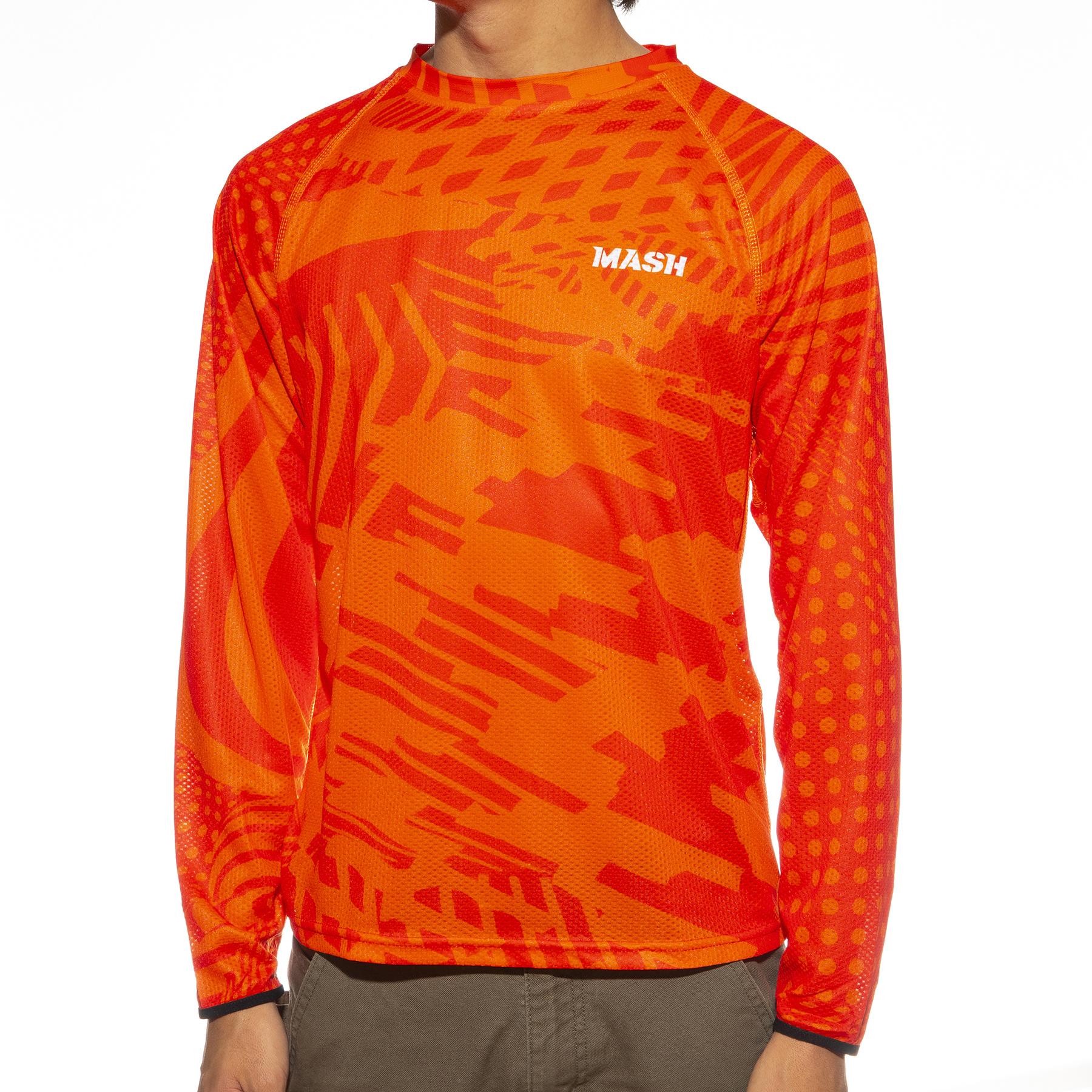 MASH Noise L/S Jersey Orange